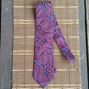 Nautica Paisley Print Men's Tie